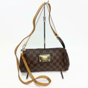 Louis Vuitton Ebene Eva Cross Body 2way 870783
